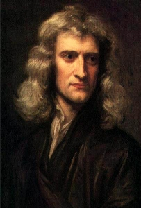 Isaac Newton, 1689, painted by Sir Godfrey Kneller (1646–1723).