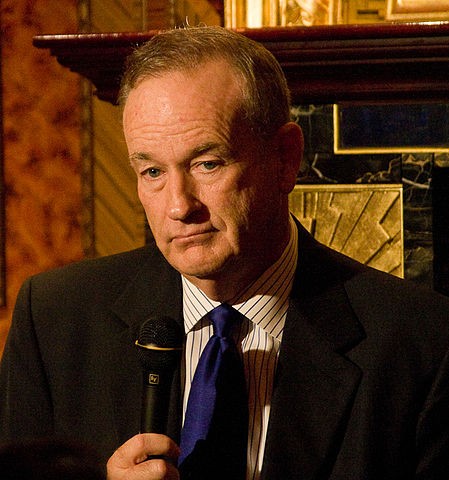 Bill O'Reilly at a Hudson Union Society event in September 2010.  Author: Justin Hoch photographing for the Hudson Union Society.