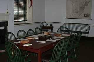 Second committee room upstairs in Congress Hall, Philadelphia, PA, photographed by Ben Franske, August 2008.