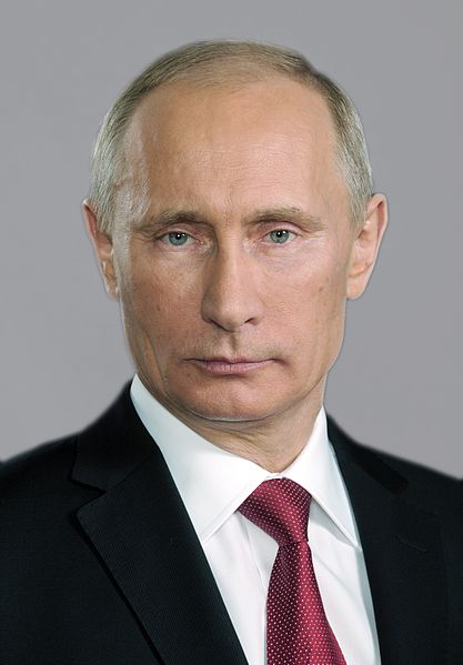 Official portrait of Vladimir Putin (2006). This file comes from the website of the President of the Russian Federation and is copyrighted.
