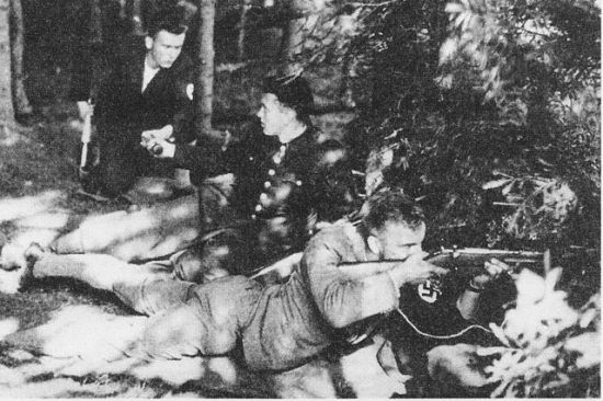 "Caption in Wikipedia: ""A Sudeten German Voluntary Force unit in 1938."""
