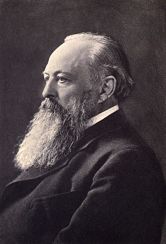 Picture of John Dalberg-Acton, 1st Baron Acton. Created, no later than 1902, and published in the book 'Letters of Lord Acton to Mary Gladstone', published by Allen & Co.