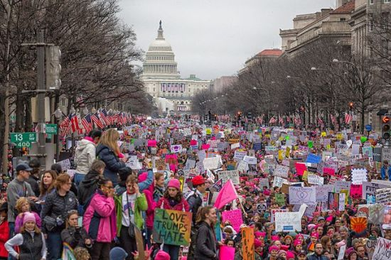 Photo by Mobilus In Mobili of the Women's March on Washington, 21 January 2017