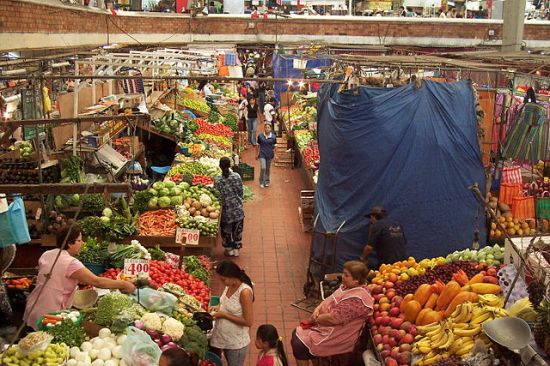 In the San Juan de Dios Market in Guadalajara, Jalisco, MEXICO. Photo by Christian Frausto Bernal (Tepic, Nayarit, MEXICO), on 26 June 2006.